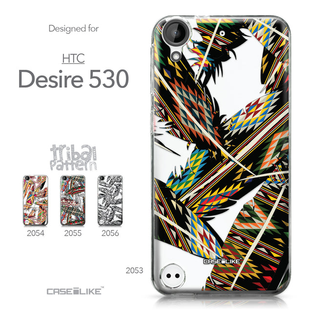 HTC Desire 530 case Indian Tribal Theme Pattern 2053 Collection | CASEiLIKE.com