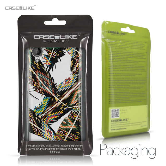 HTC Desire 530 case Indian Tribal Theme Pattern 2053 Retail Packaging | CASEiLIKE.com