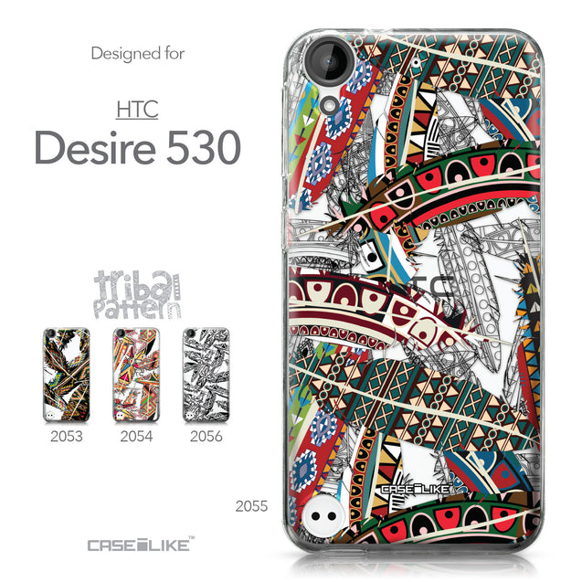 HTC Desire 530 case Indian Tribal Theme Pattern 2055 Collection | CASEiLIKE.com