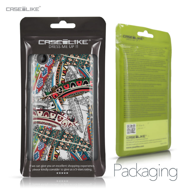 HTC Desire 530 case Indian Tribal Theme Pattern 2055 Retail Packaging | CASEiLIKE.com