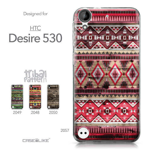 HTC Desire 530 case Indian Tribal Theme Pattern 2057 Collection | CASEiLIKE.com
