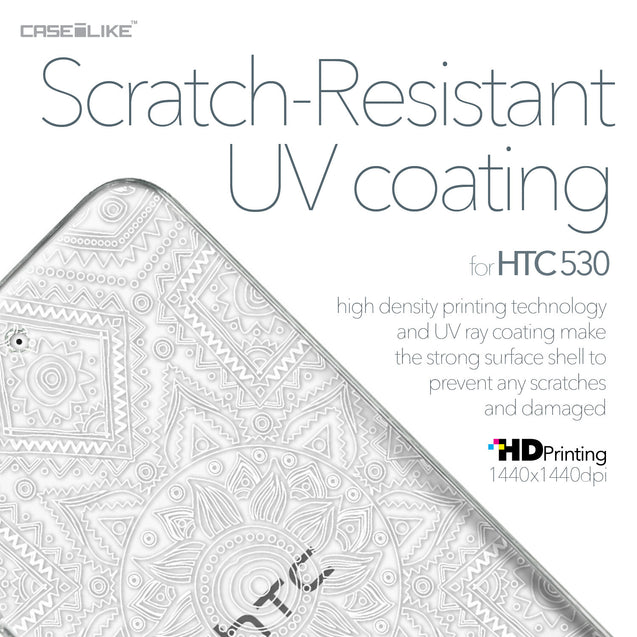 HTC Desire 530 case Indian Line Art 2061 with UV-Coating Scratch-Resistant Case | CASEiLIKE.com