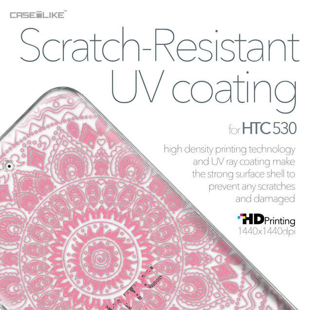 HTC Desire 530 case Indian Line Art 2062 with UV-Coating Scratch-Resistant Case | CASEiLIKE.com