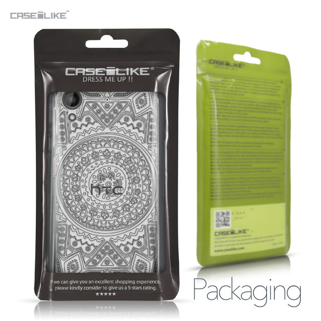 HTC Desire 530 case Indian Line Art 2063 Retail Packaging | CASEiLIKE.com