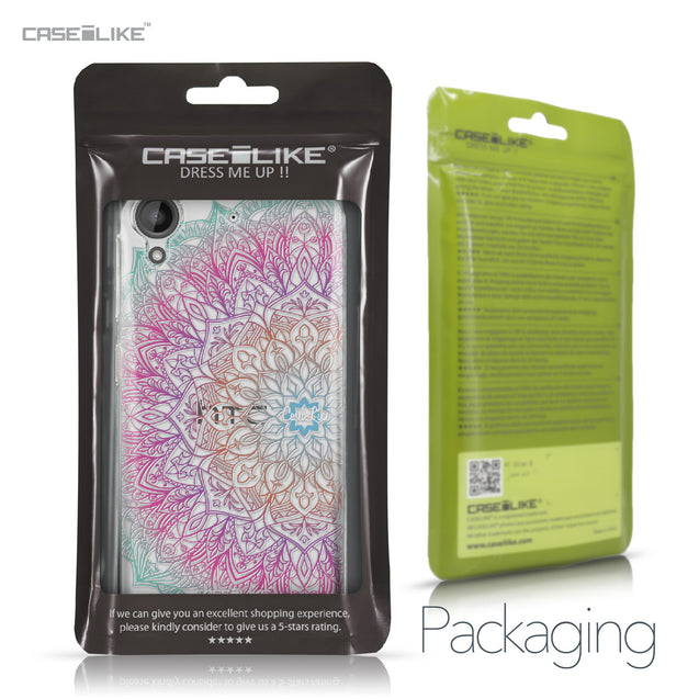 HTC Desire 530 case Mandala Art 2090 Retail Packaging | CASEiLIKE.com