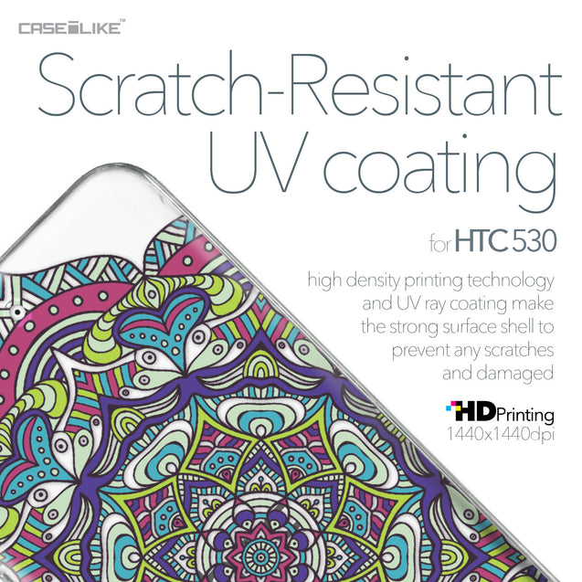 HTC Desire 530 case Mandala Art 2094 with UV-Coating Scratch-Resistant Case | CASEiLIKE.com