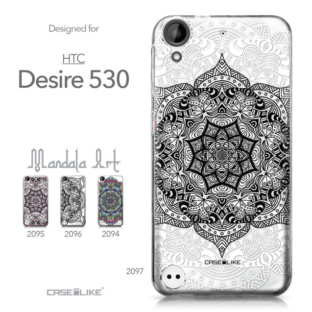 HTC Desire 530 case Mandala Art 2097 Collection | CASEiLIKE.com