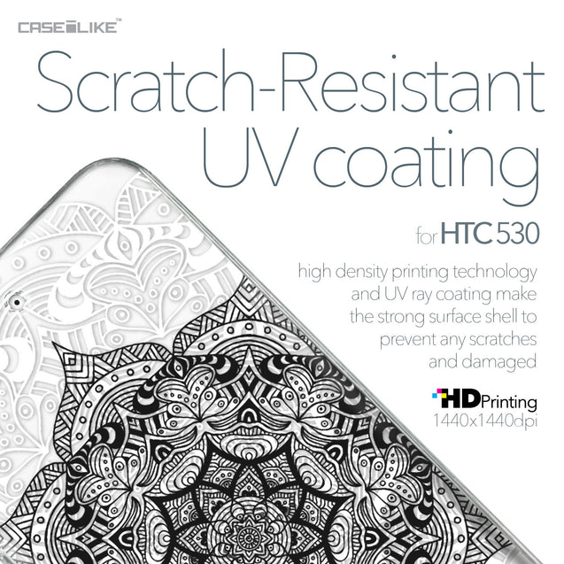 HTC Desire 530 case Mandala Art 2097 with UV-Coating Scratch-Resistant Case | CASEiLIKE.com