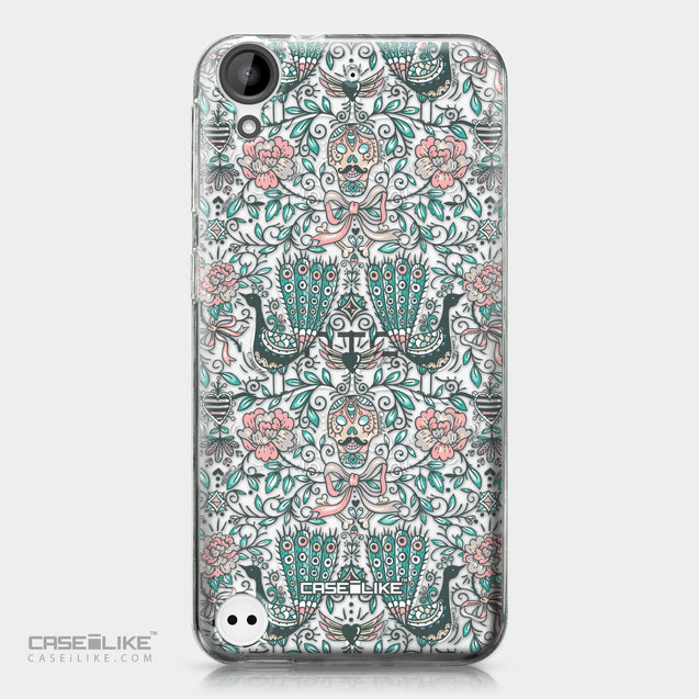 HTC Desire 530 case Roses Ornamental Skulls Peacocks 2226 | CASEiLIKE.com