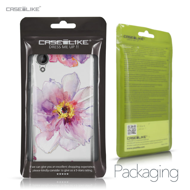 HTC Desire 530 case Watercolor Floral 2231 Retail Packaging | CASEiLIKE.com