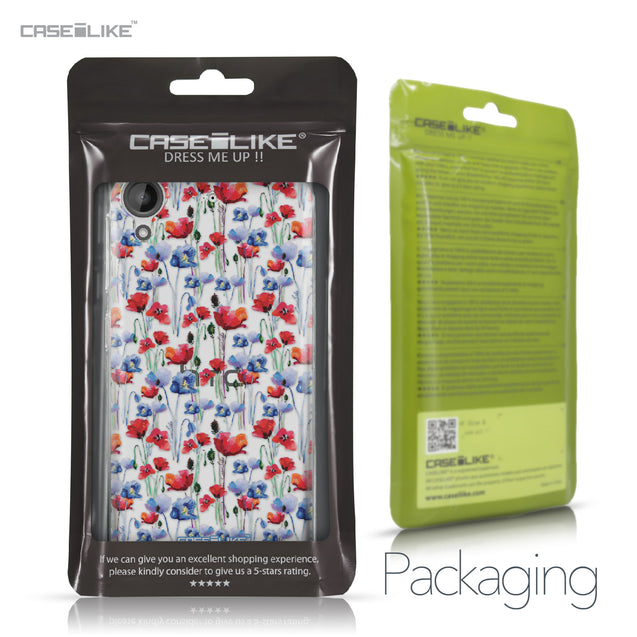 HTC Desire 530 case Watercolor Floral 2233 Retail Packaging | CASEiLIKE.com