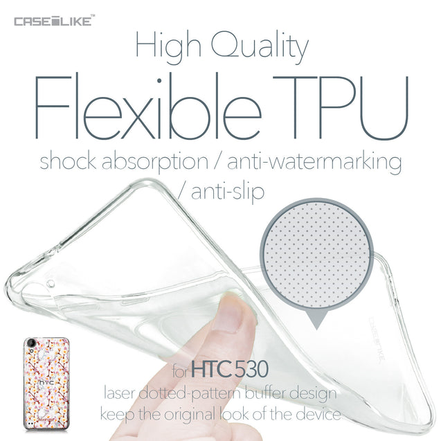 HTC Desire 530 case Watercolor Floral 2236 Soft Gel Silicone Case | CASEiLIKE.com