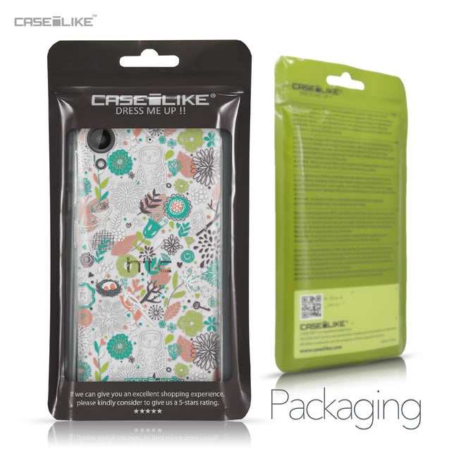HTC Desire 530 case Spring Forest White 2241 Retail Packaging | CASEiLIKE.com