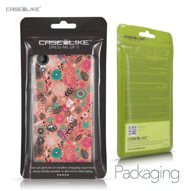 HTC Desire 530 case Spring Forest Pink 2242 Retail Packaging | CASEiLIKE.com