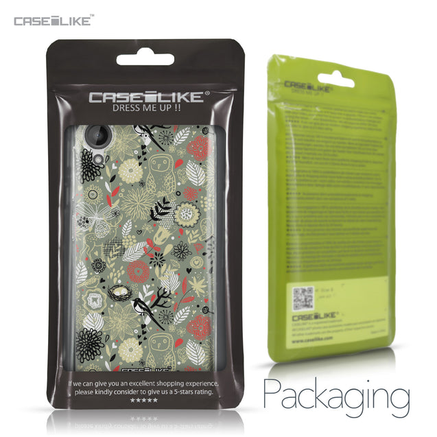 HTC Desire 530 case Spring Forest Gray 2243 Retail Packaging | CASEiLIKE.com