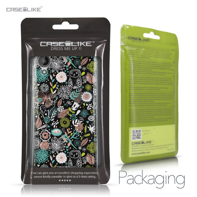 HTC Desire 530 case Spring Forest Black 2244 Retail Packaging | CASEiLIKE.com