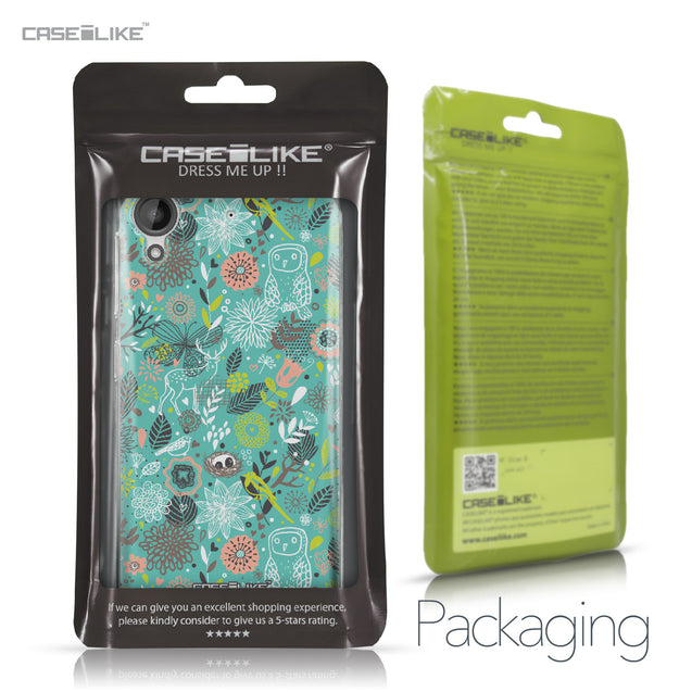 HTC Desire 530 case Spring Forest Turquoise 2245 Retail Packaging | CASEiLIKE.com