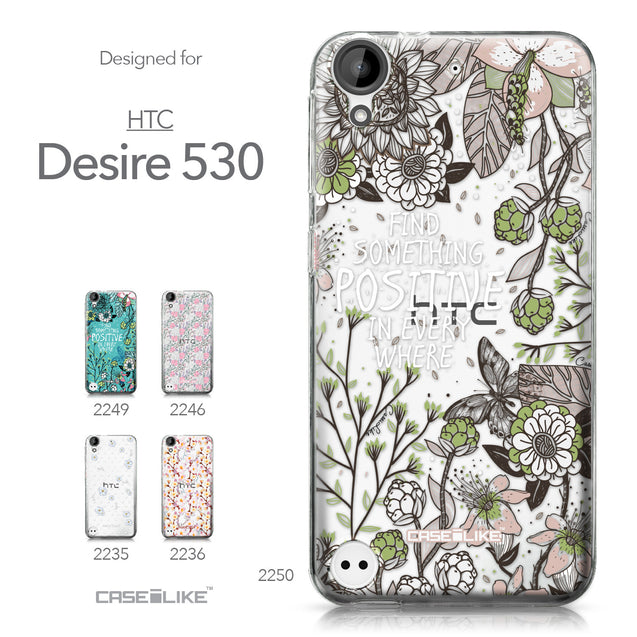 HTC Desire 530 case Blooming Flowers 2250 Collection | CASEiLIKE.com