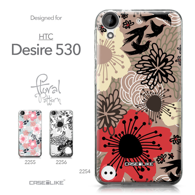 HTC Desire 530 case Japanese Floral 2254 Collection | CASEiLIKE.com