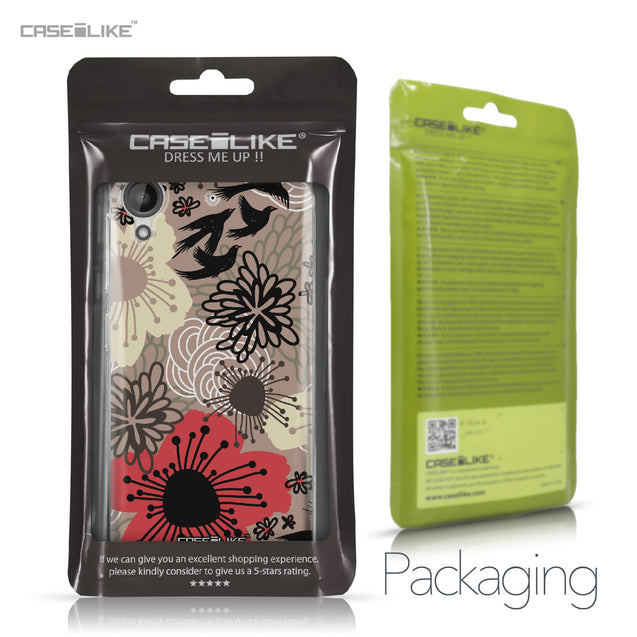 HTC Desire 530 case Japanese Floral 2254 Retail Packaging | CASEiLIKE.com