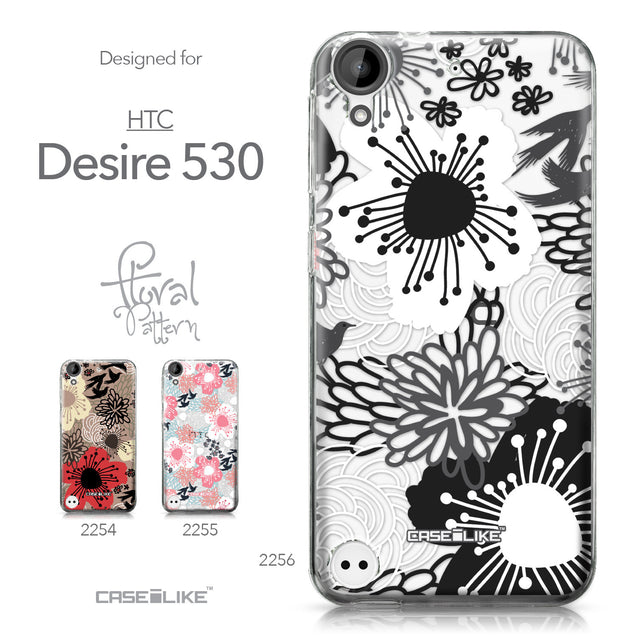 HTC Desire 530 case Japanese Floral 2256 Collection | CASEiLIKE.com