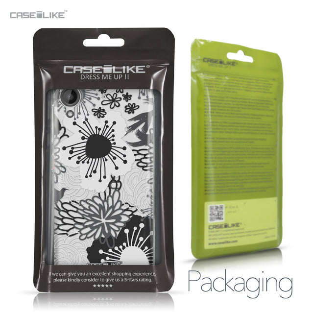 HTC Desire 530 case Japanese Floral 2256 Retail Packaging | CASEiLIKE.com