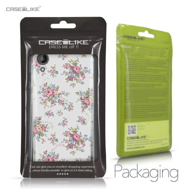 HTC Desire 530 case Floral Rose Classic 2260 Retail Packaging | CASEiLIKE.com