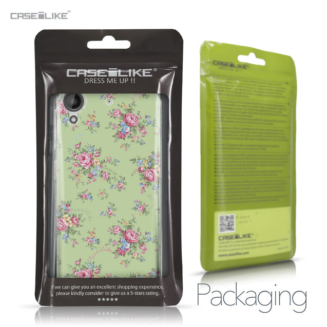 HTC Desire 530 case Floral Rose Classic 2262 Retail Packaging | CASEiLIKE.com