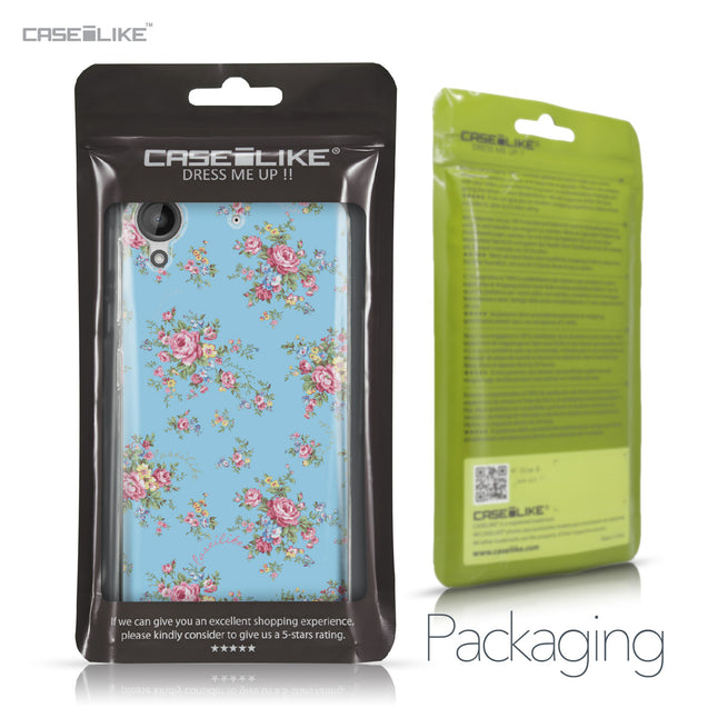 HTC Desire 530 case Floral Rose Classic 2263 Retail Packaging | CASEiLIKE.com