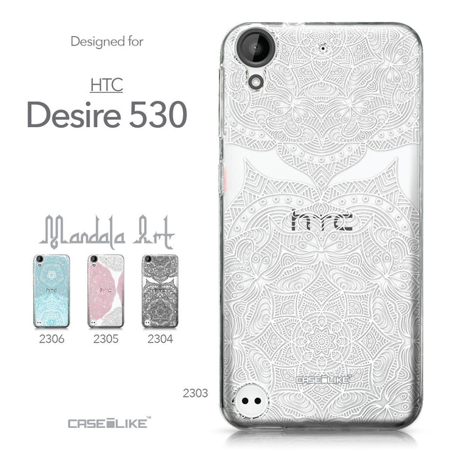 HTC Desire 530 case Mandala Art 2303 Collection | CASEiLIKE.com
