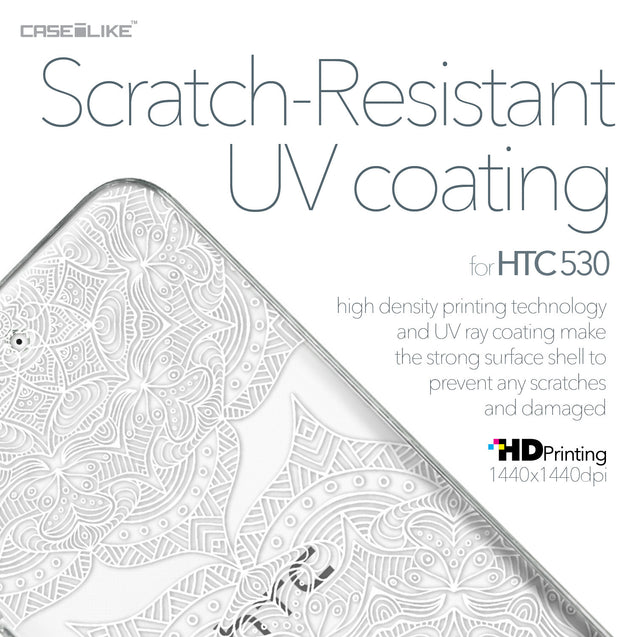 HTC Desire 530 case Mandala Art 2303 with UV-Coating Scratch-Resistant Case | CASEiLIKE.com