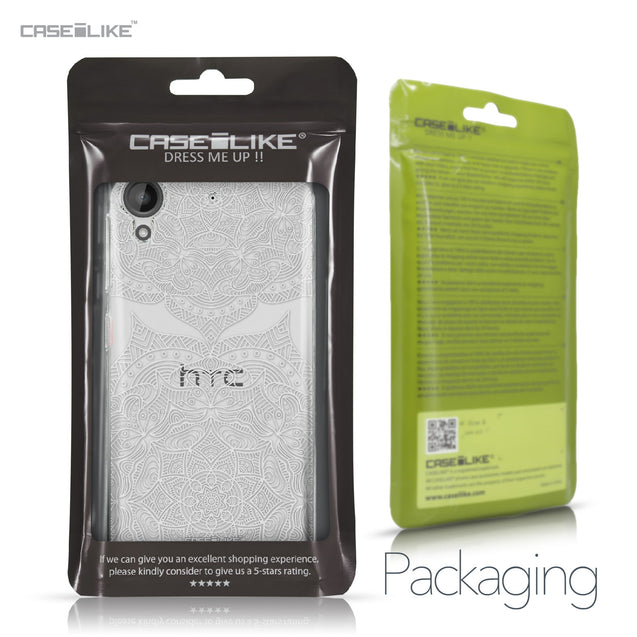 HTC Desire 530 case Mandala Art 2303 Retail Packaging | CASEiLIKE.com