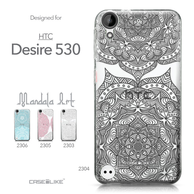 HTC Desire 530 case Mandala Art 2304 Collection | CASEiLIKE.com