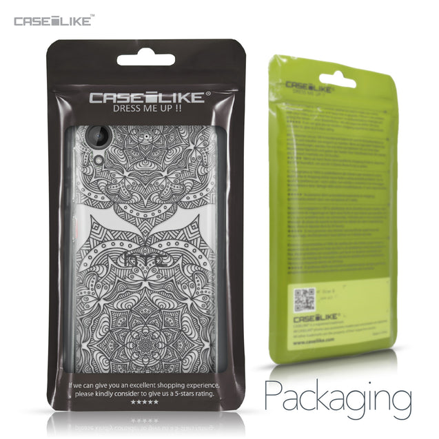 HTC Desire 530 case Mandala Art 2304 Retail Packaging | CASEiLIKE.com