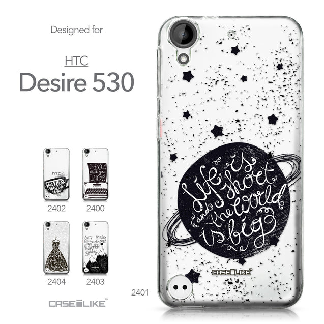 HTC Desire 530 case Quote 2401 Collection | CASEiLIKE.com