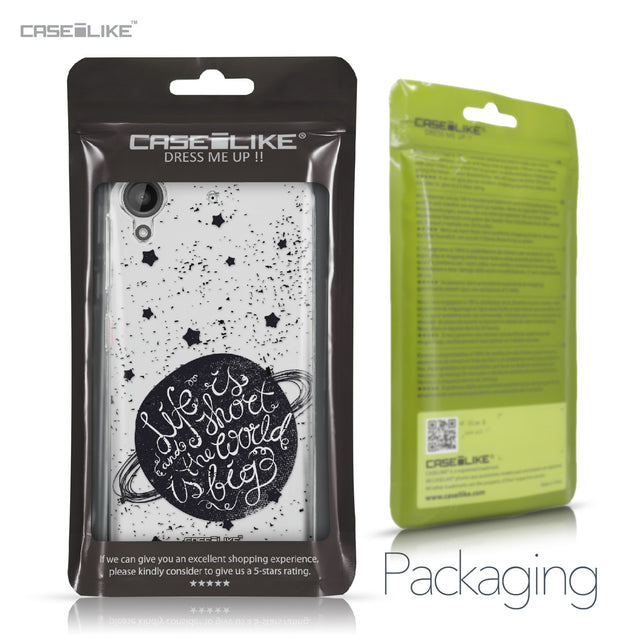 HTC Desire 530 case Quote 2401 Retail Packaging | CASEiLIKE.com