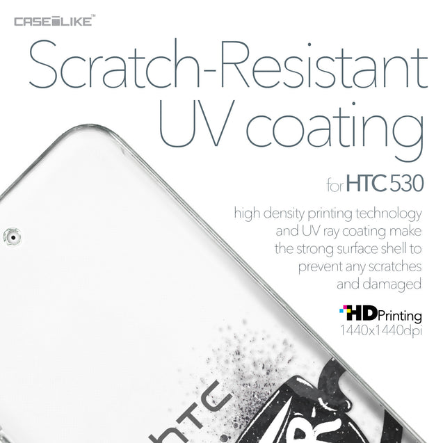 HTC Desire 530 case Quote 2402 with UV-Coating Scratch-Resistant Case | CASEiLIKE.com