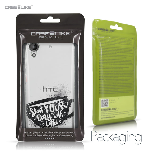 HTC Desire 530 case Quote 2402 Retail Packaging | CASEiLIKE.com