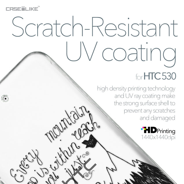 HTC Desire 530 case Quote 2403 with UV-Coating Scratch-Resistant Case | CASEiLIKE.com