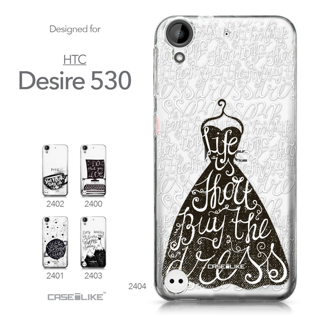 HTC Desire 530 case Quote 2404 Collection | CASEiLIKE.com