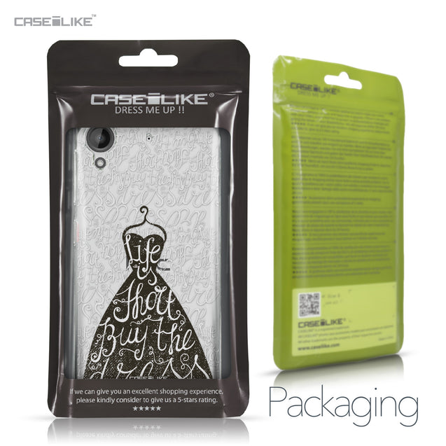 HTC Desire 530 case Quote 2404 Retail Packaging | CASEiLIKE.com