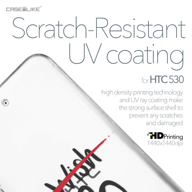 HTC Desire 530 case Quote 2407 with UV-Coating Scratch-Resistant Case | CASEiLIKE.com