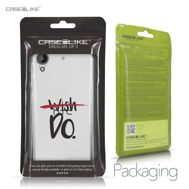HTC Desire 530 case Quote 2407 Retail Packaging | CASEiLIKE.com