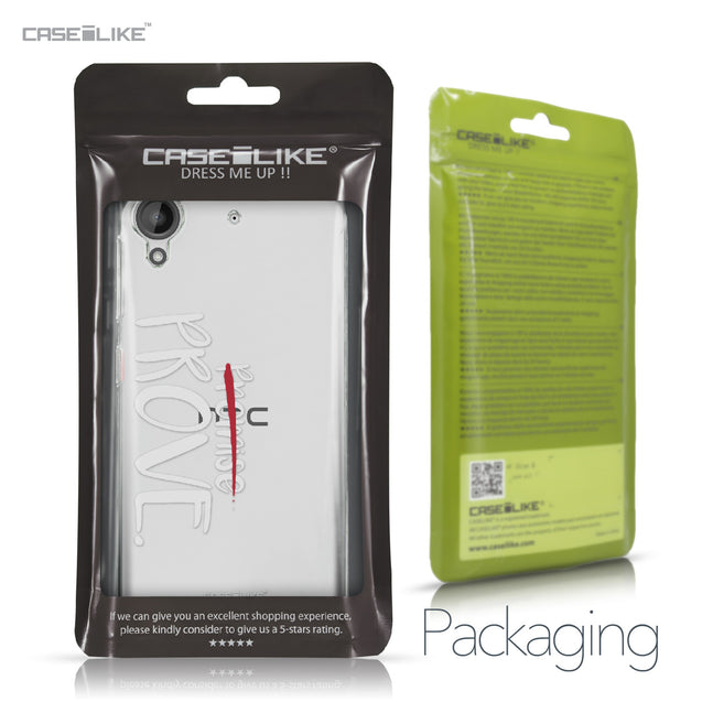 HTC Desire 530 case Quote 2409 Retail Packaging | CASEiLIKE.com