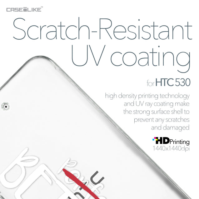 HTC Desire 530 case Quote 2410 with UV-Coating Scratch-Resistant Case | CASEiLIKE.com