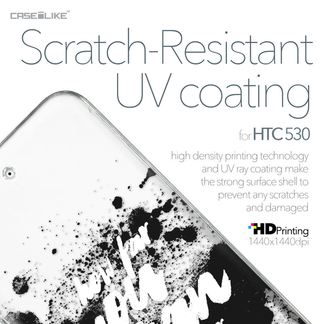 HTC Desire 530 case Quote 2413 with UV-Coating Scratch-Resistant Case | CASEiLIKE.com