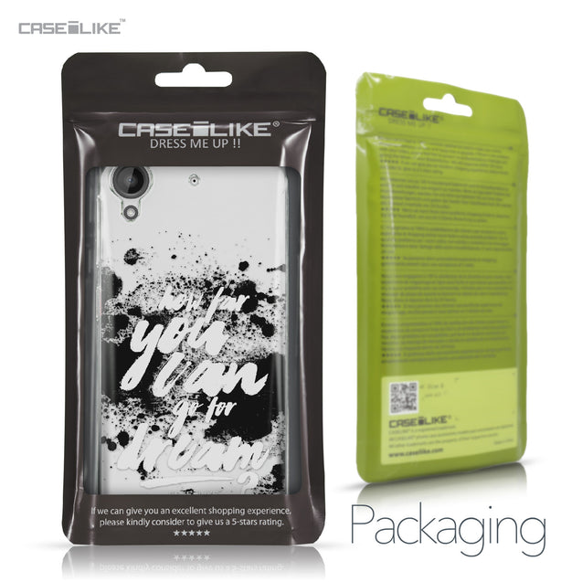 HTC Desire 530 case Quote 2413 Retail Packaging | CASEiLIKE.com