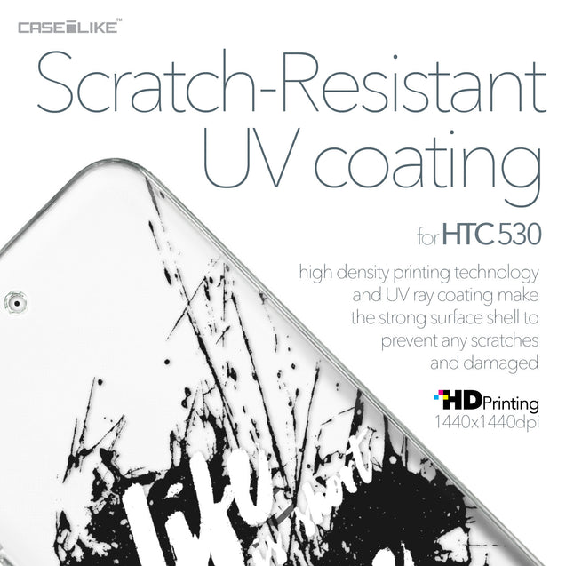 HTC Desire 530 case Quote 2416 with UV-Coating Scratch-Resistant Case | CASEiLIKE.com