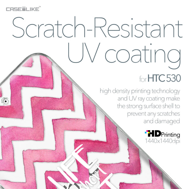 HTC Desire 530 case Quote 2419 with UV-Coating Scratch-Resistant Case | CASEiLIKE.com