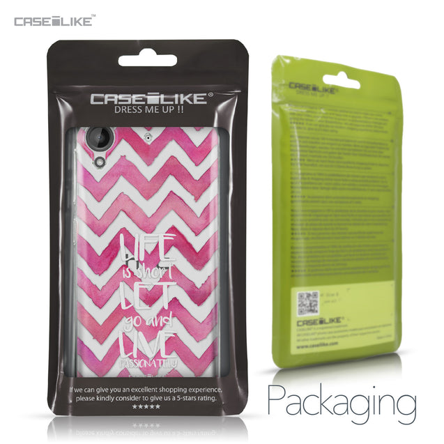 HTC Desire 530 case Quote 2419 Retail Packaging | CASEiLIKE.com